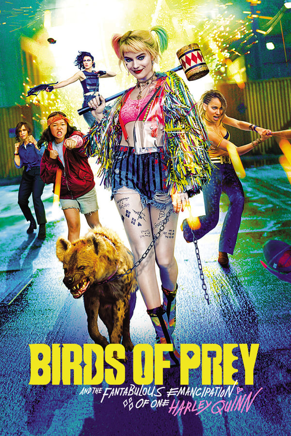 Birds of Prey (2020) ORG Hindi Dual Audio 720p AMZN HDRip ESubs Free Download