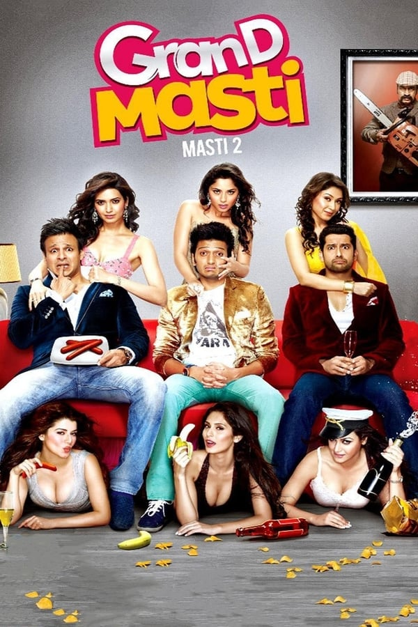 Grand Masti (2013) Hindi Full Movie 1080p WEB-DL | 720p | 480p | 1.45 GB, 1 GB, 400 MB | Download | Watch Online | Direct Links | GDrive