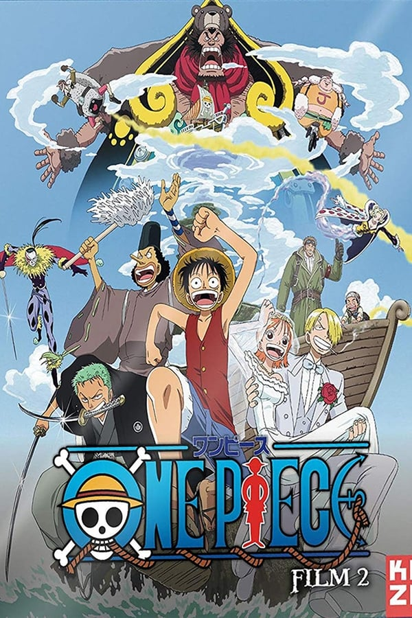 Assistir One Piece Filme 02: Aventura na Ilha Nejimaki Online