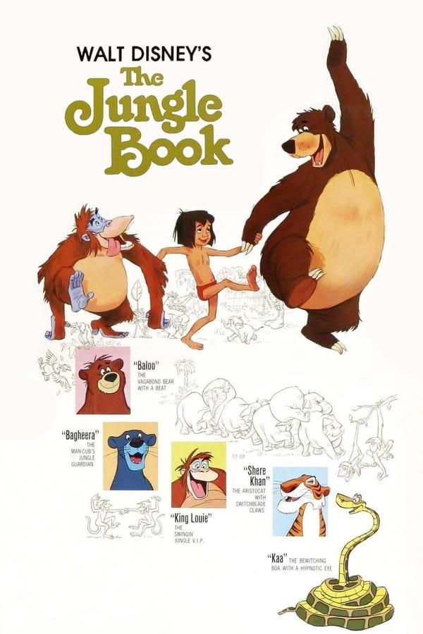 ჯუნგლების წიგნი / The Jungle Book ქართულად