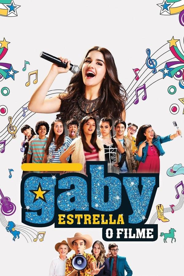 Gaby Estrella – O Filme poster, capa, cartaz