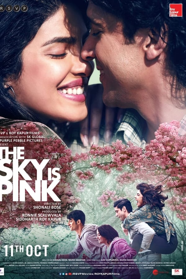 The Sky Is Pink (2019) Hindi Full Movie 1080p WEB-DL | 720p | 480p | 1.60 GB, 1 GB, 400 MB | Download | Watch Online | Direct Links | GDrive