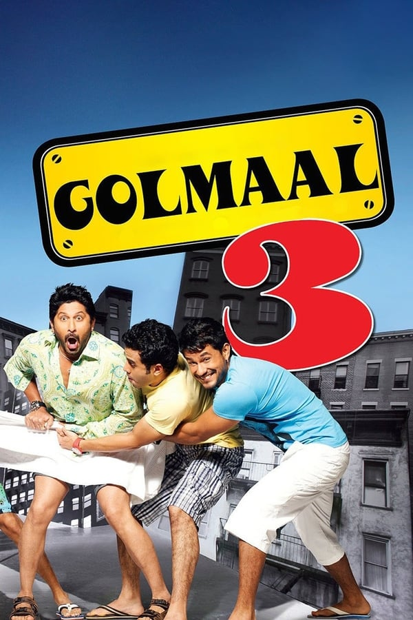 Golmaal 3 (2010) [Hindi 5.1+ESub] | x264 10 Bit BluRay | 1080p | 720p | 480p