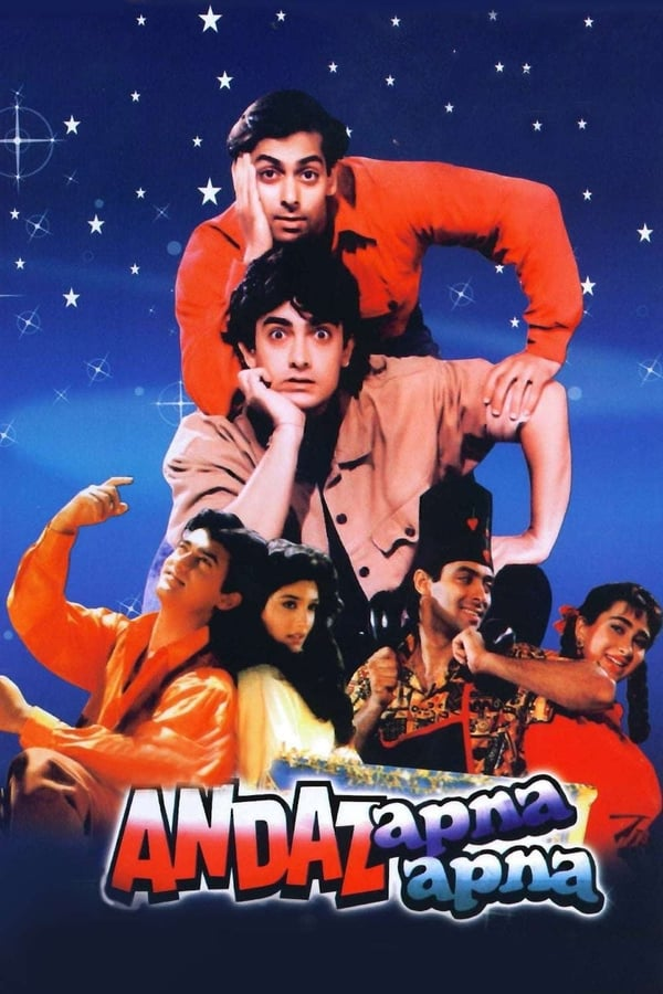 Andaz Apna Apna(1994) Hindi | x264 bluray | 720p | 480p | Download | Watch Online | GDrive | Direct Links