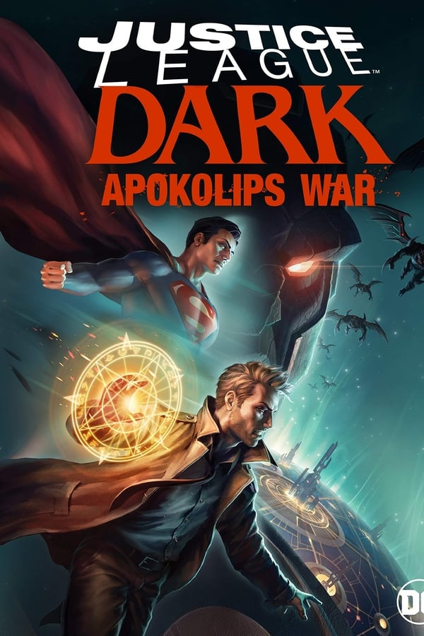 Justice League Dark: Apokolips War (2020) English Movie 720p HDRip  700MB ESub