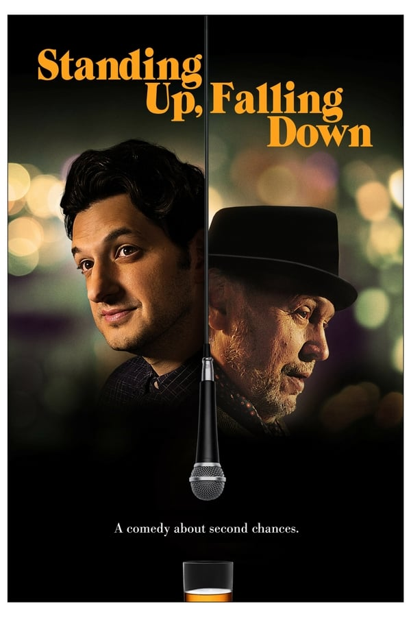 Standing Up, Falling Down (2019) 720p BDRip Dual Audio [Unofficial Dubbed] Hindi-English x264 AAC