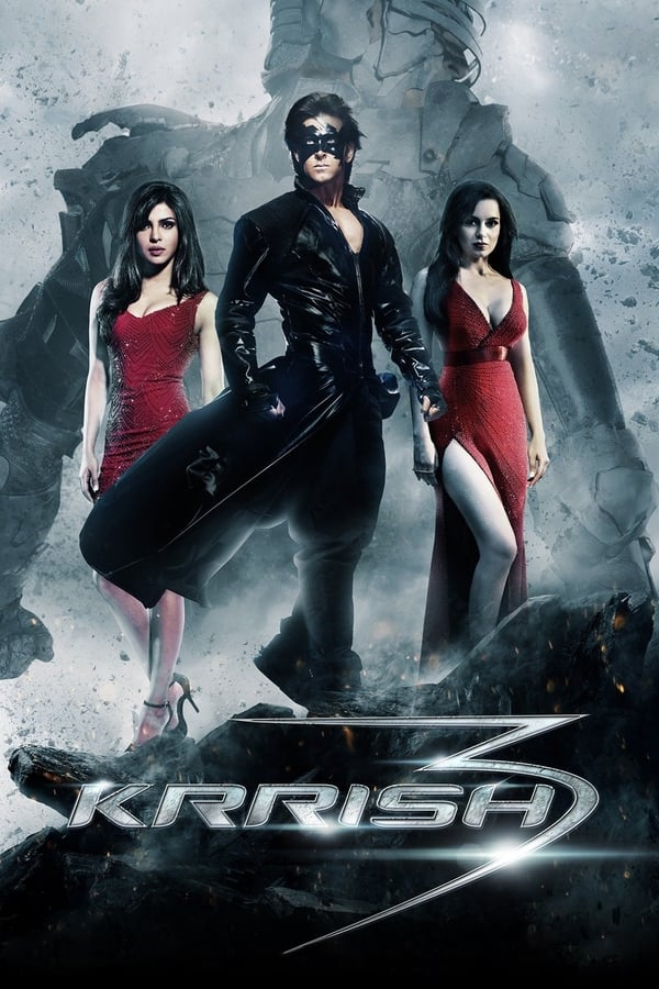 Krrish 3 (2013) [Hindi DD5.1+ESub] 720p BluRay x264 10Bit 1GB