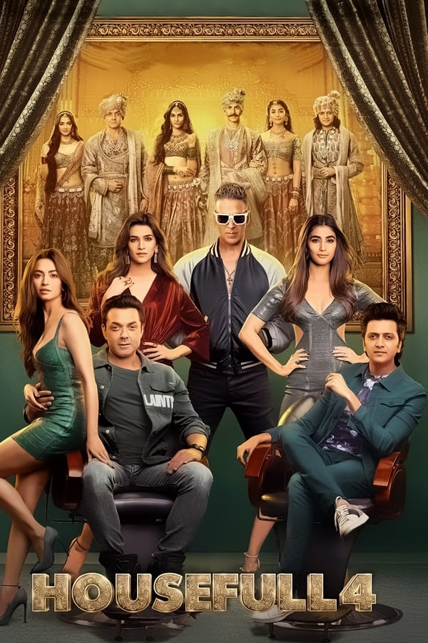 Housefull 4 (2019) Hindi Full Movie 720p HDCam [Clear Print] | 1.2 GB | Download | Watch Online | Direct Links | GDrive