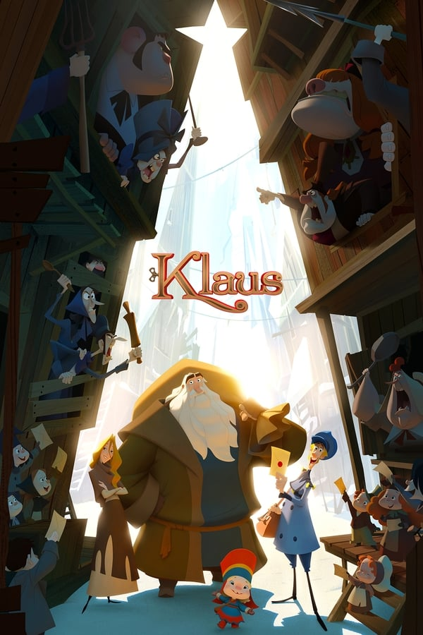 Klaus (2019) Hindi + English [Dual Audio] 1080p | 720p | 480p | WEB-DL | 1.45 GB, 1 GB, 400 MB | Netflix Exclusive | Download | Watch Online | Direct Links | GDrive