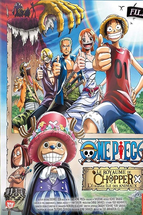 One Piece Filme 03: O Reino de Chopper na Ilha dos Estranhos Animais!