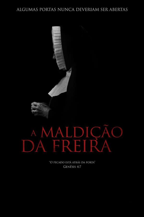 A Maldição da Freira poster, capa, cartaz