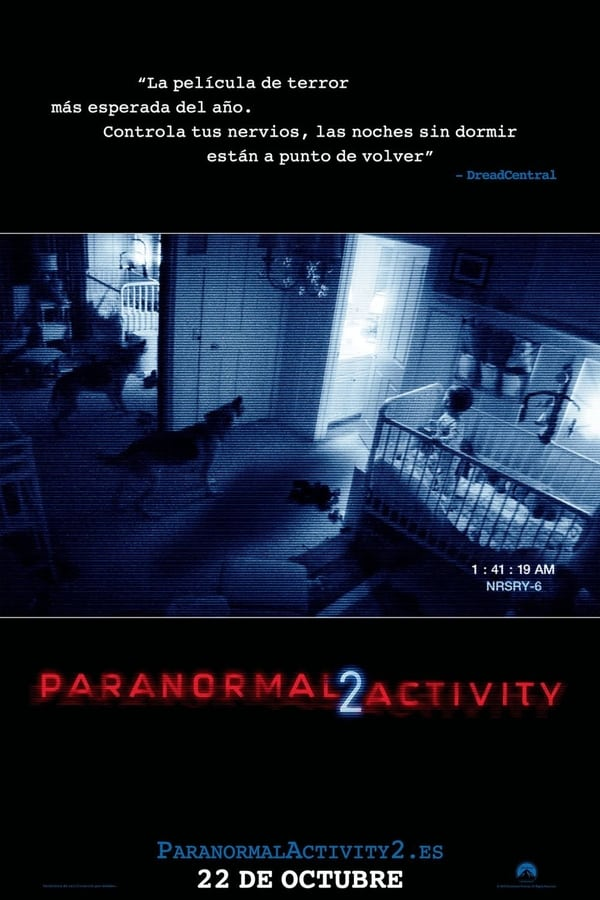 Actividad paranormal 2 (Paranormal Activity 2)