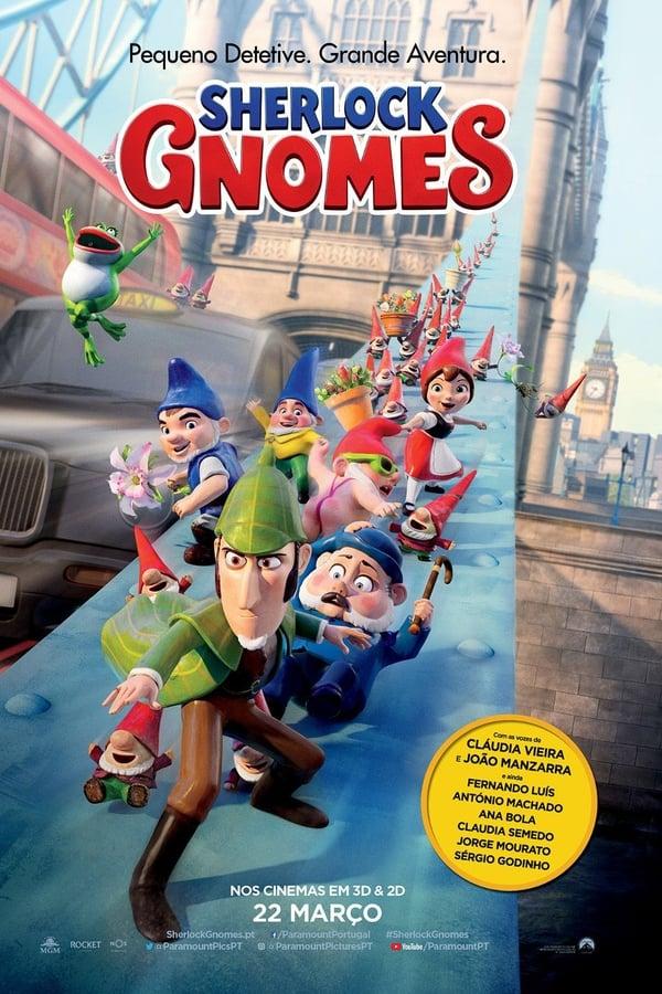 Assistir Sherlock Gnomes e o Mistério do Jardim Online