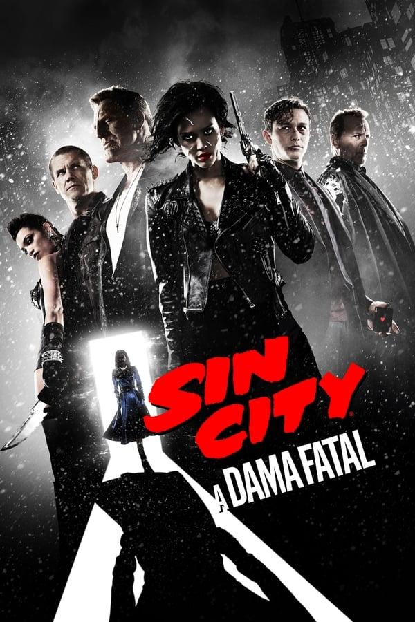 Sin City 2: A Dama Fatal poster, capa, cartaz