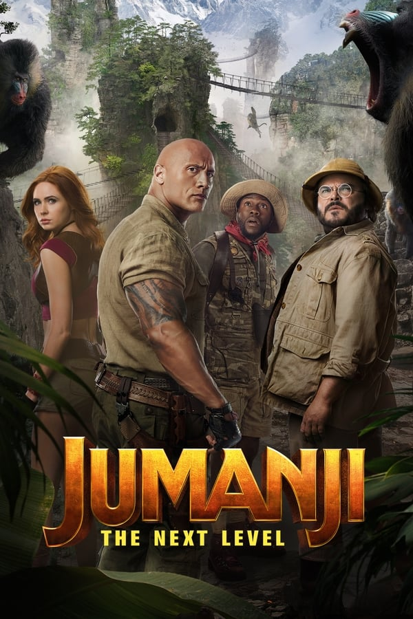 Jumanji: The Next Level (2019) Dual Audio   HD