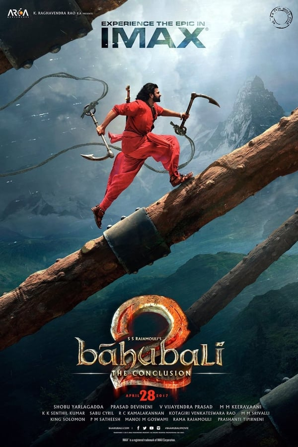 Baahubali 2: The Conclusion | 2017 | Hindi | 1080p | 720p | BluRay