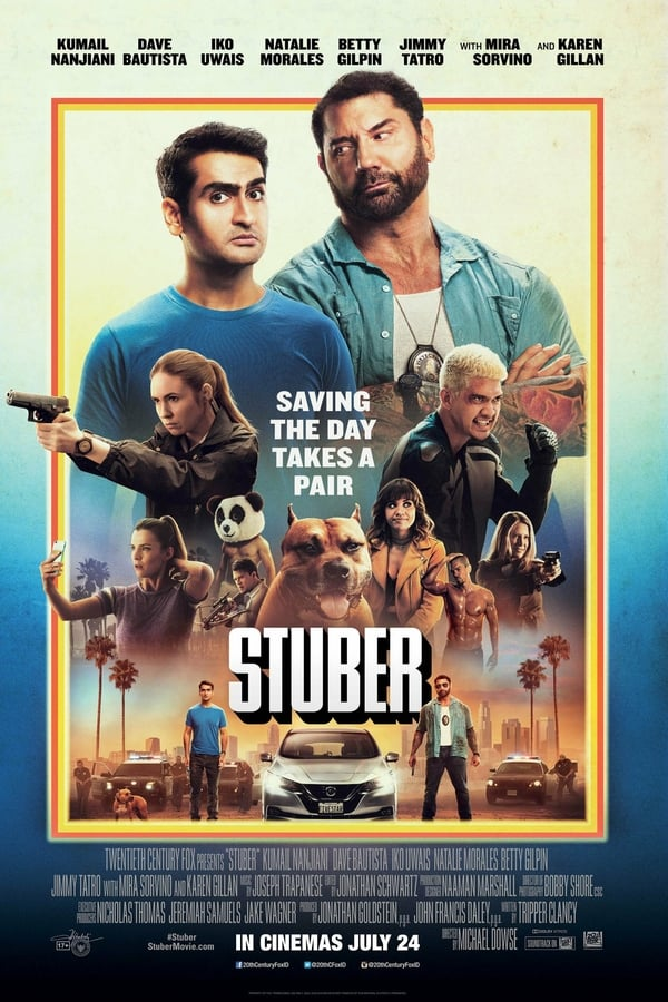 Stuber (2019) Dual Audio [Hindi + English] 1080p | 720p | Blu-Ray | 2GB, 900MB | Download Hindi Dubbed Movie | Watch Online | Direct Links | GDrive