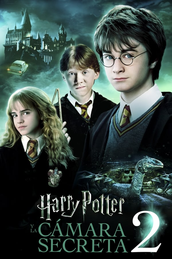 Harry Potter y la cámara secreta (2002) 4K HDR Latino