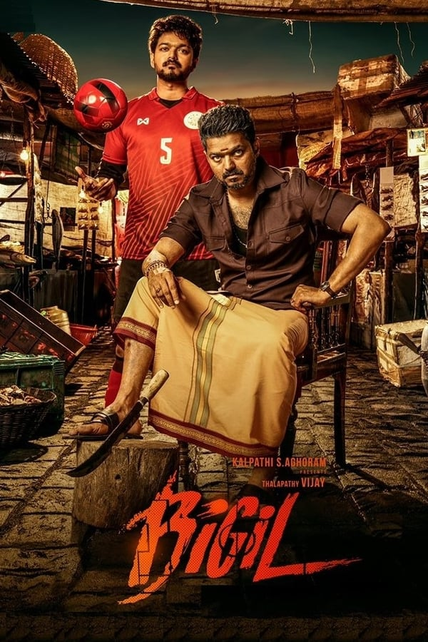 Bigil (2019) Tamil Movie 720p WEB-DL x265 AAC 750MB