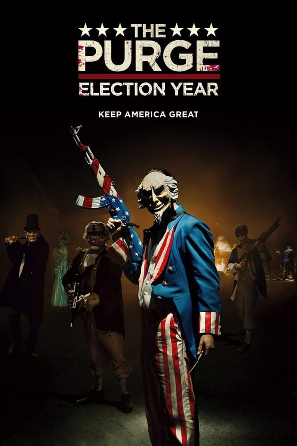 The Purge: Election Year (2016) Dual Audio [Hindi + English] | x264 Bluray | 720p | 480p | Download | Watch Online | GDrive | Direct Links