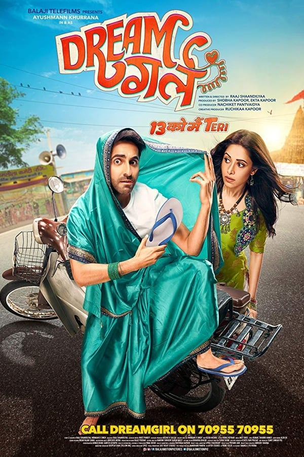 Dream Girl (2019) Hindi Full Movie 1080p WEB-DL | 720p | 480p | 2 GB, 1 GB, 535 MB | Download | Watch Online | Direct Links | GDrive