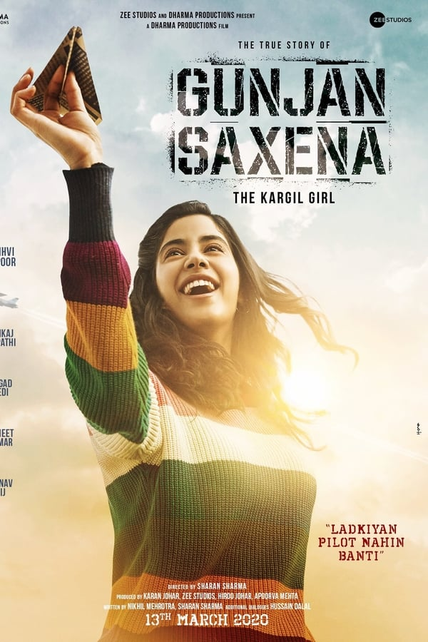Gunjan Saxena: The Kargil Girl (2020) Hindi | x264 NF WEB-DL | 1080p | 720p | 480p | Download | GDrive | Direct Links