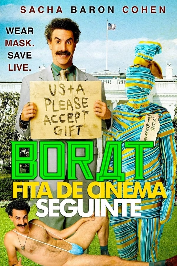 Borat: Fita de Cinema Seguinte Torrent (2020) Dual Áudio / Dublado WEB-DL 1080p – Download