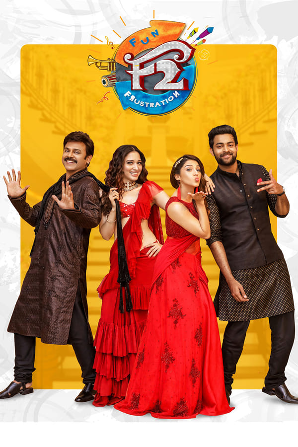 F2: Fun and Frustration (2019) Hindi Dubbed Full Movie 1080p WEB-DL | 720p | | 1.96 GB, 750 MB | Download | Watch Online | Direct Links | GDrive