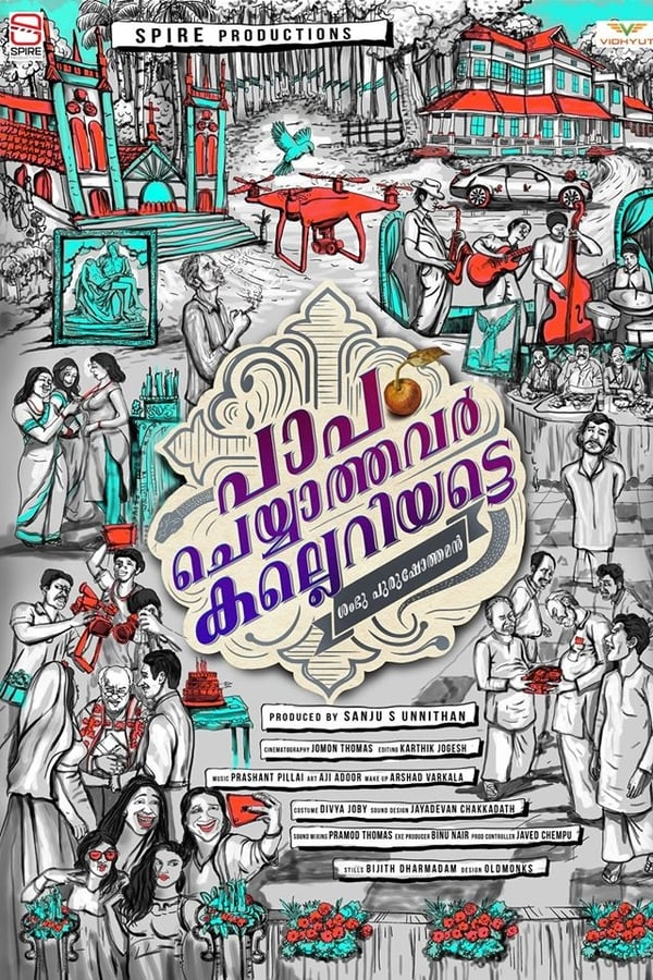 Paapam Cheyyathavar Kalleriyatte (2020) Malayalam | x264 WEB-DL | 1080p | 720p | 480p |  Download | Watch Online | GDrive | Direct Links