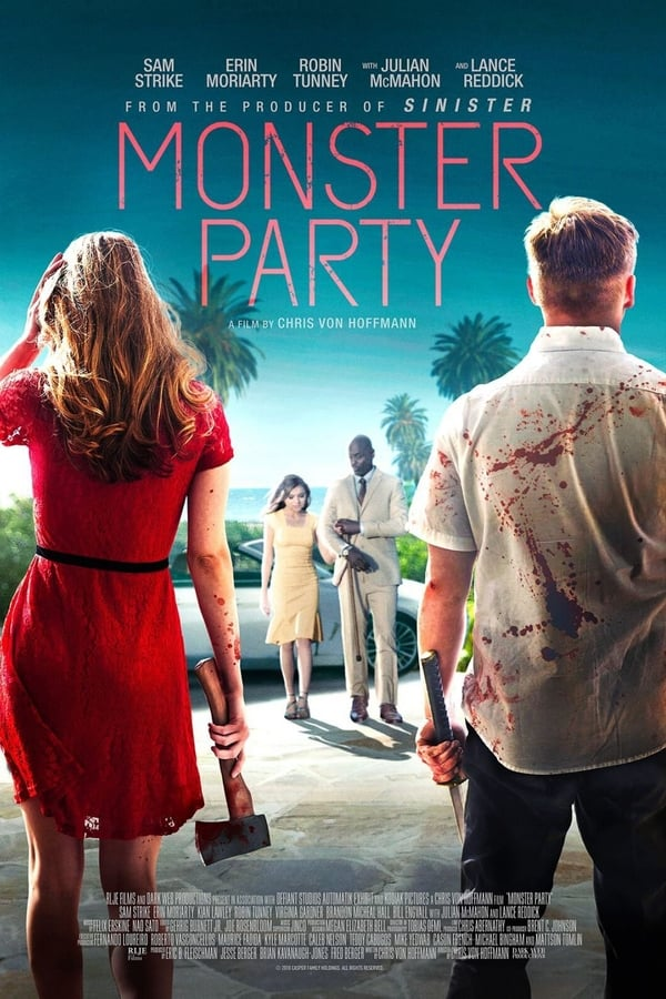 Monster Party (2018) 720p BlyRay Dual Audio [Unofficial Dubbed] Hindi-English x264 AAC