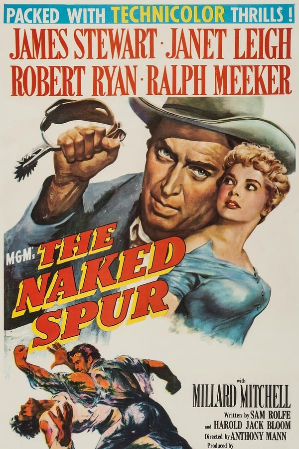 Amazon.com: The Naked Spur: James Stewart, Janet Leigh