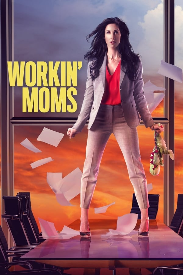 Workin' Moms season 4 poster