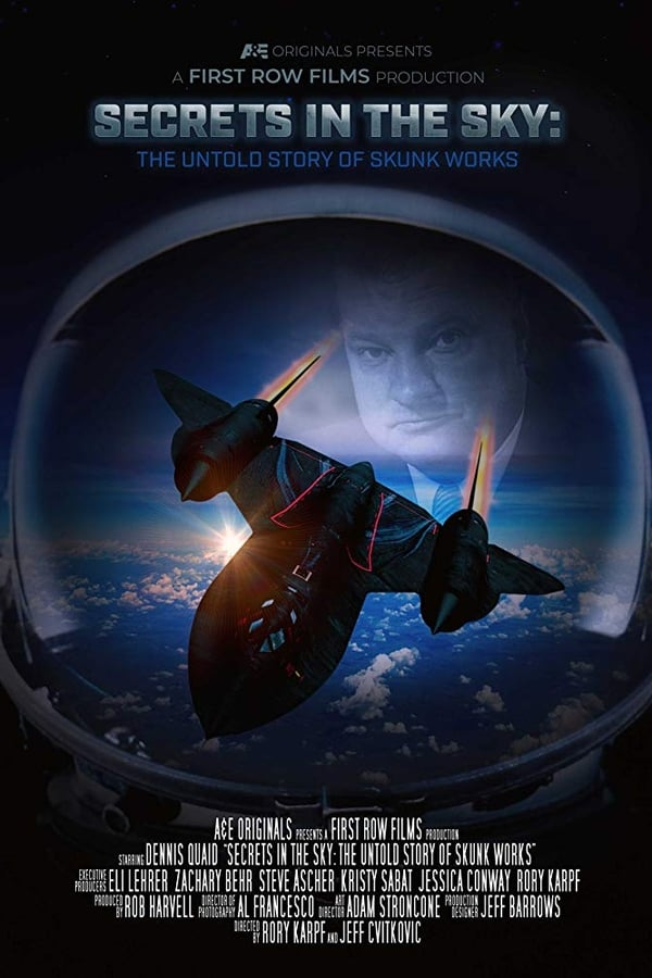 Baixar Secrets in the Sky: The Untold Story of Skunk Works (2019) Dublado via Torrent