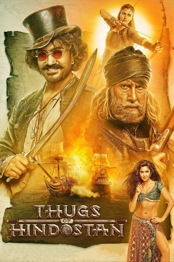 Thugs of Hindostan (2018) Hindi | x264 Blu-Ray | 720p | 480p | Download | Watch Online | GDrive | Direct Links