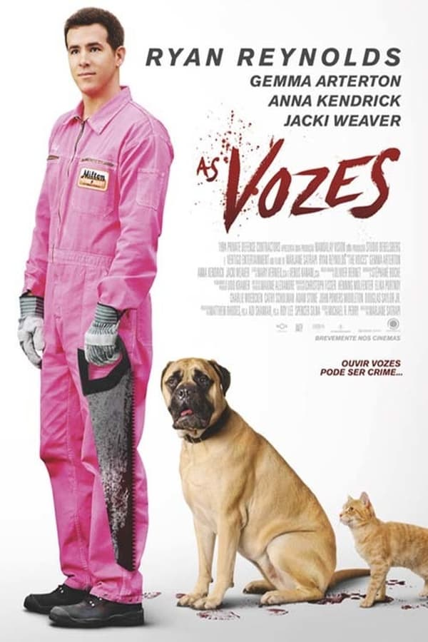 As Vozes poster, capa, cartaz