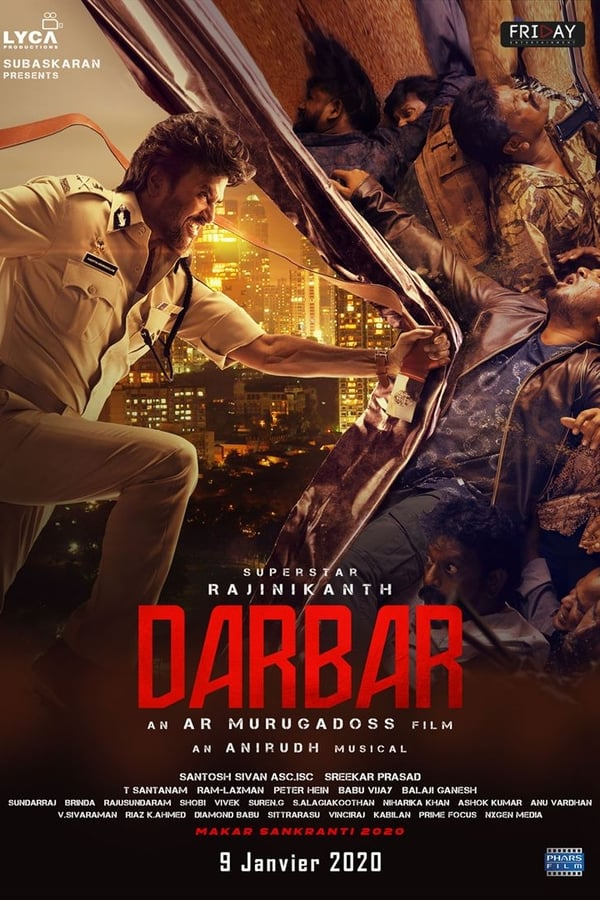 Darbar (2020) Tamil | x264 AMZN WEB-DL | 1080p | 720p | 480p | Download | Watch Online | GDrive | Direct Links