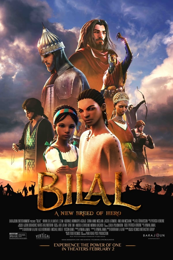 Bilal: A New Breed of Hero (2015) Animation 1080p | 720p | Blu-Ray | 1.7GB, 950MB | Download | Watch Animation Online | Direct Links | GDrive