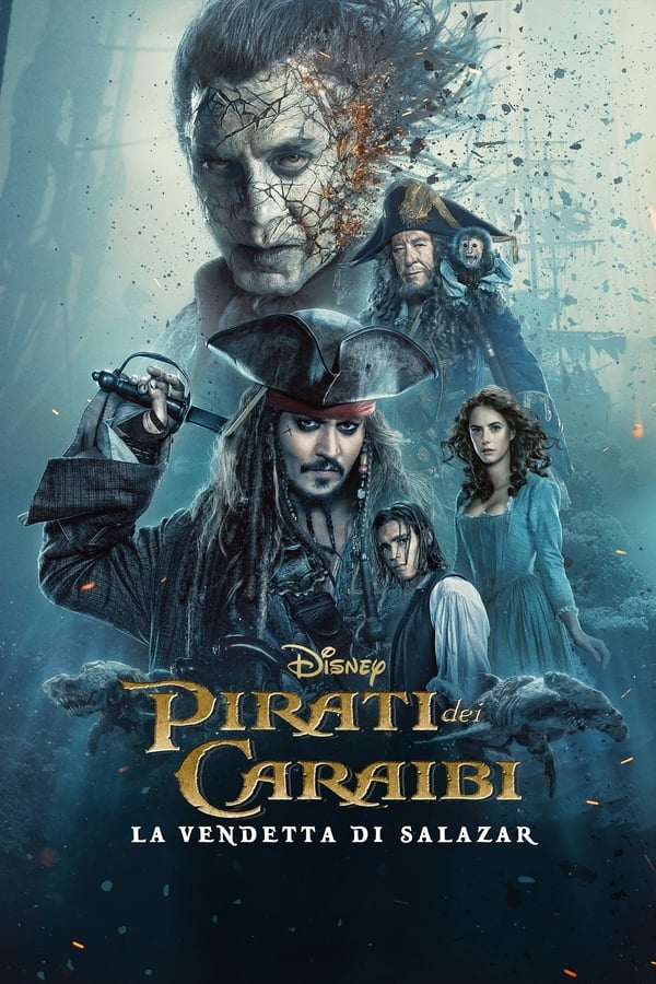 Guarda Pirati dei Caraibi La vendetta di Salazar streaming HD 2017 HD Streaming