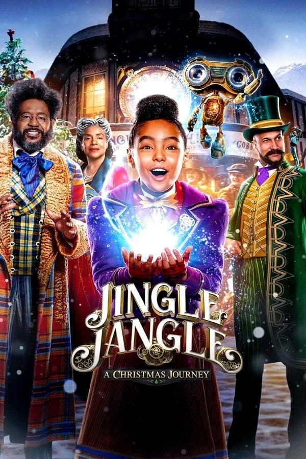Jingle Jangle A Christmas Journey (2020) 720p WEBRip Dual Audio [Unofficial Dubbed] Hindi-English x264 AAC