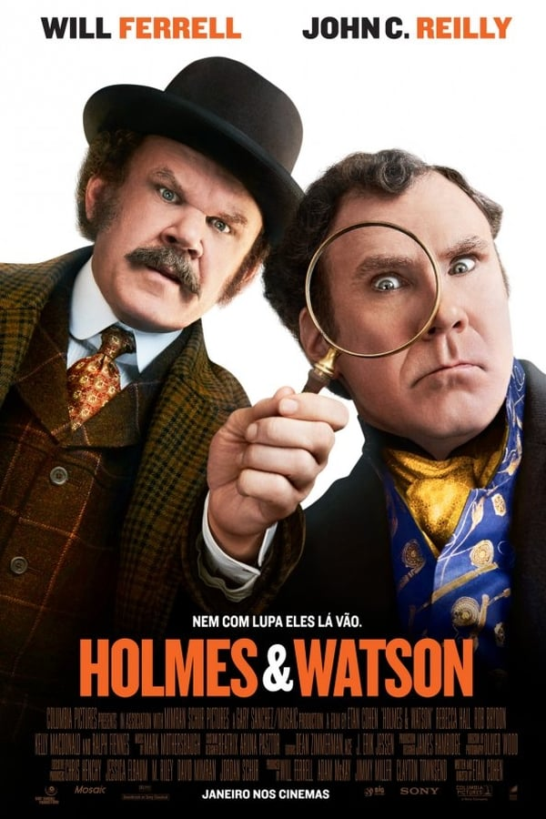 Holmes e Watson poster, capa, cartaz