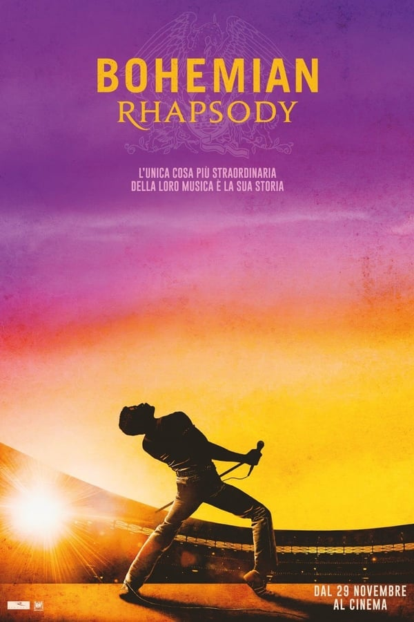 Guarda Bohemian Rhapsody Streaming Gratis HD HD Streaming