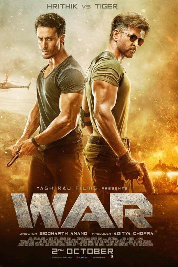 War (2019) Multi Audios DD5.1 2K |  WEB-DL |  19.6 GB  | Download | Watch Online | Direct Links | GDrive