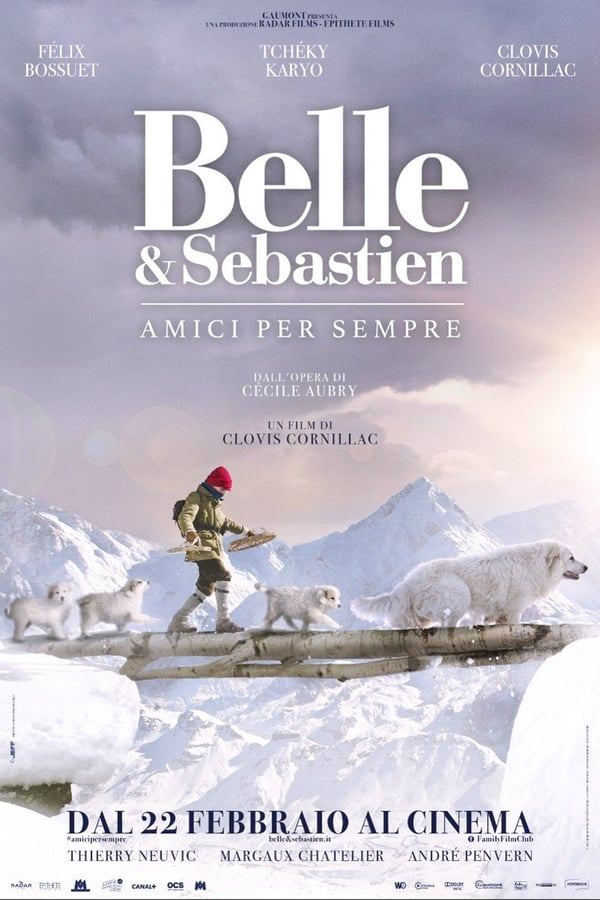 Guarda Belle E Sebastien Amici per sempre HD 2018 Streaming Gratis HD Streaming