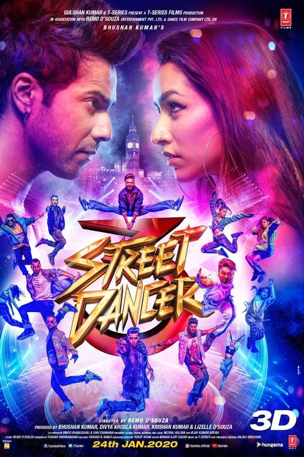 Street Dancer 3D (2020) Hindi | x264 PreDvD | 720p | 480p | Download Bollywood Movies | Watch Online | GDrive | Direct Links