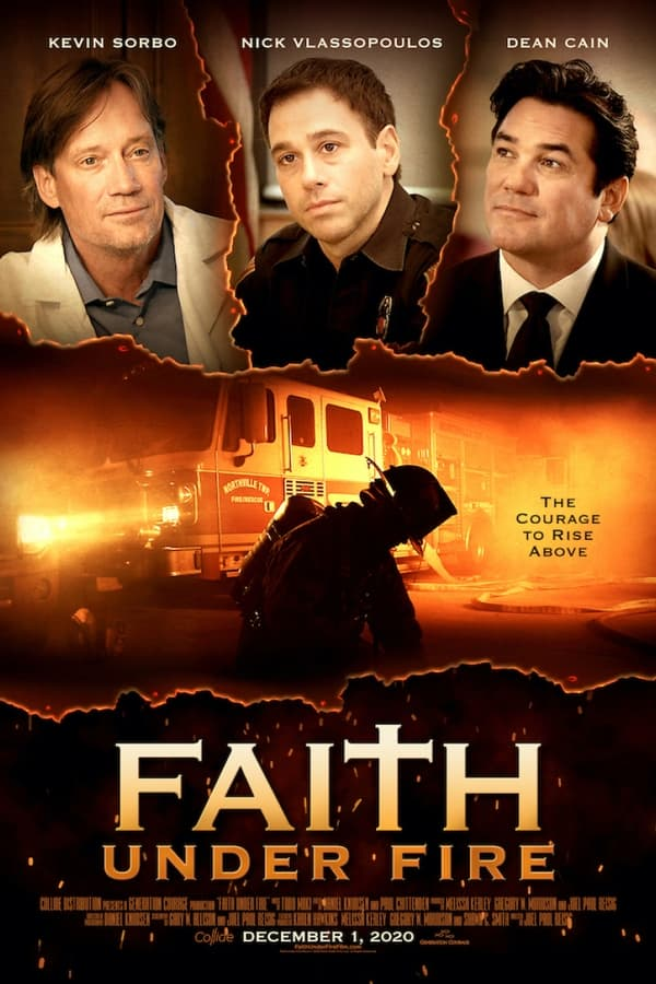 Faith Under Fire (2020) 720p DVDRip Dual Audio [Unofficial Dubbed] Hindi-English x264 AAC