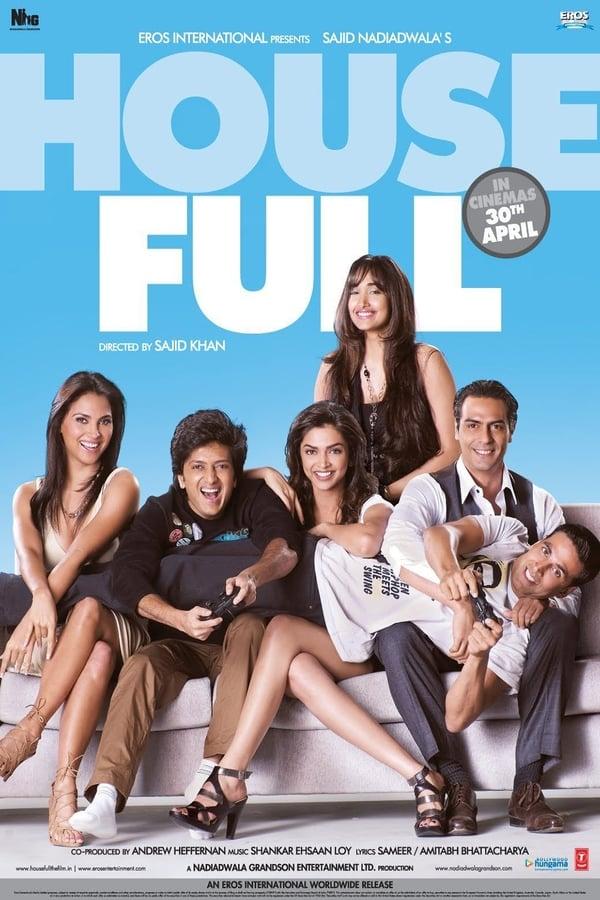 Housefull | 2010 | Hindi | 1080p | 720p | WEB-DL