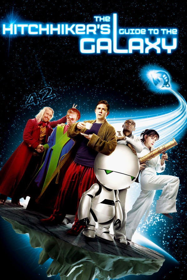 The Hitchhiker's Guide to the Galaxy (2005) REMUX 1080p Latino – CMHDD