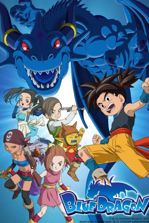 Assistir Blue Dragon Online