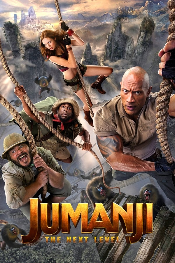 Jumanji: The Next Level (2019) English | x264 HC HD-Rip | 1080p | 720p | 480p | Download | Watch Online | GDrive | Direct Links