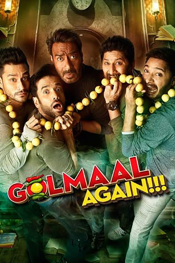 Golmaal Again (2017) Hindi | x265 10bit AMZN WEB-Rip HEVC | 1080p | 720p | 480p